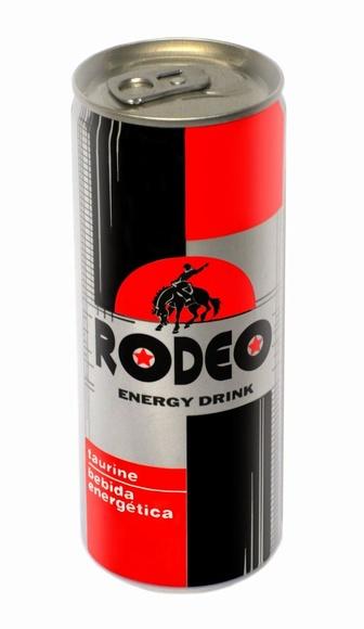 Bebida energetica RODEO: Productos de Sarigabo, S. L.
