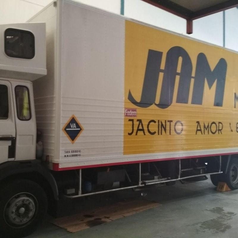 Traslados de oficinas: Servicios de Mudanzas Jacinto Amor