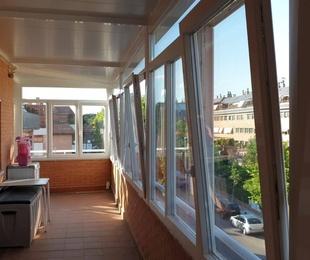Cerramientos de PVC para terrazas y áticos