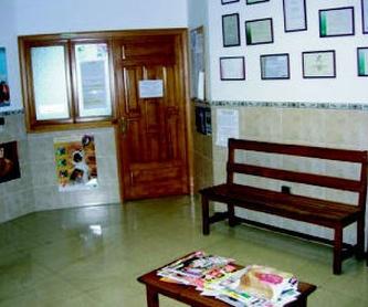 Vista parcial de la sala de espera de la clínica. Las Palmas de Gran Canaria http://www.clinica-veterinaria-losgalgos.es/es/