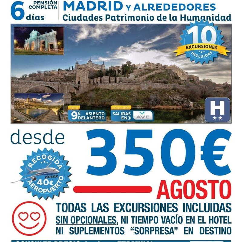 Madrid y alrededores: Ofertas de Viajes Global Sur
