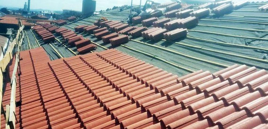Reparación de tejados de teja en Asturias