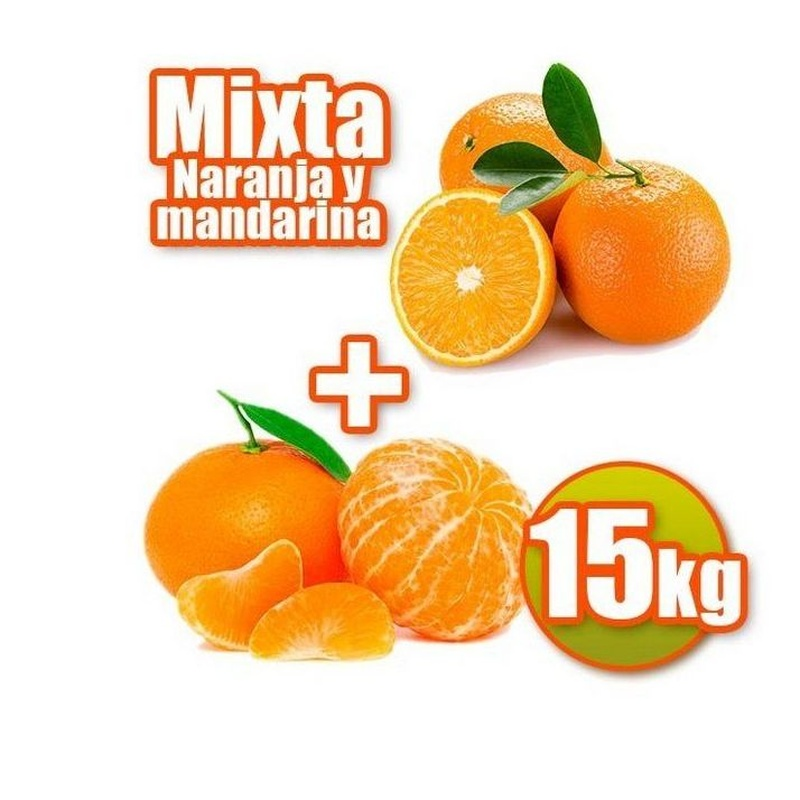 Mixta de mesa y mandarina 15 kg: Productos de Naranjas Julián
