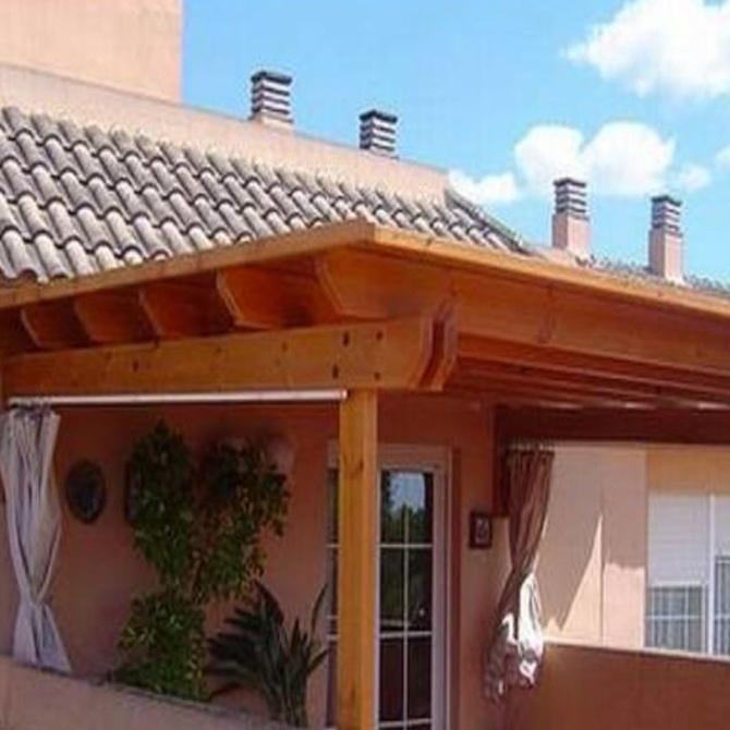 Unos sencillos trucos para abrillantar las estructuras de madera natural