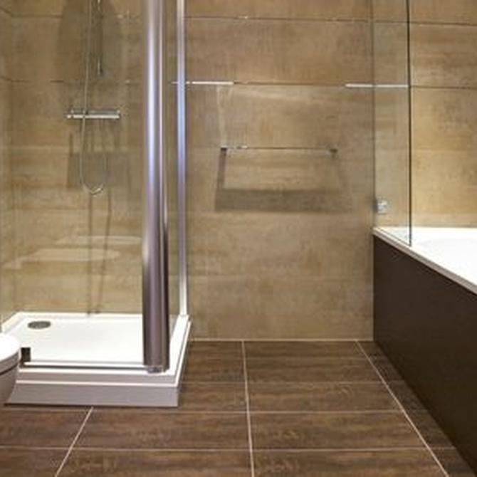 Mampara de baño: ¿cristal o plástico?