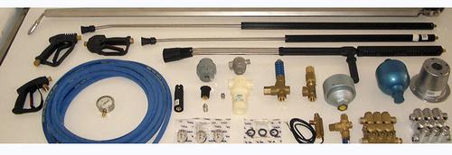 Venta de todo tipo de accesorios para equipos de lavado de alta presión
