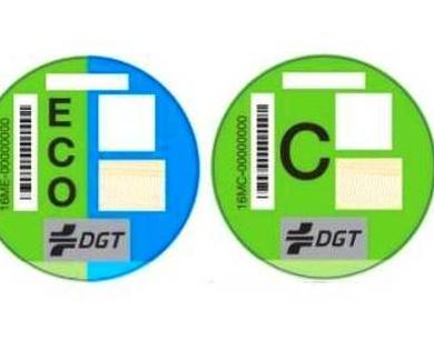 Obligatoriedad de llevar puesta la pegatina de la DGT en Madrid