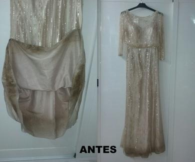 Tintoreria para vestidos de fiesta