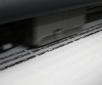 Impresión en gran formato en lienzo (canvas): Servicios y productos de Rovira Digital, S.L.