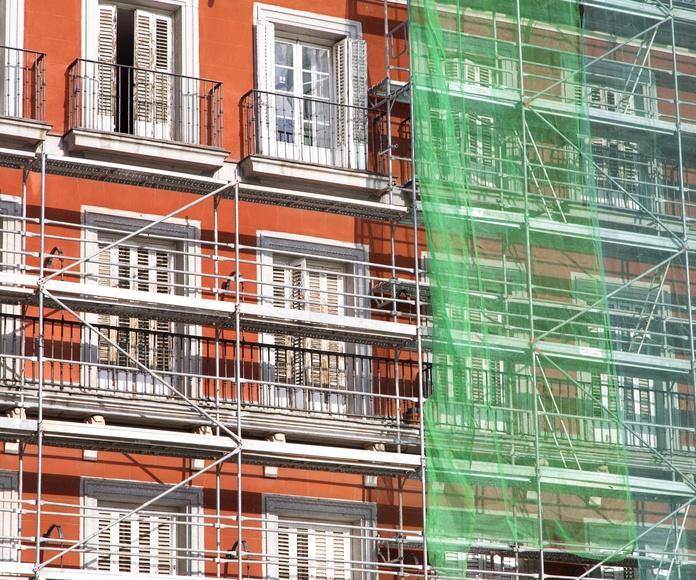 Rehabilitación de fachadas: Servicios de Herconval
