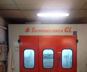Horno-cabina de pintura de última generación para la utilización de pintura al agua