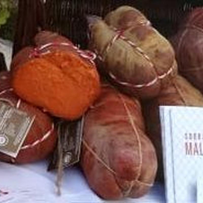 Sobrasada de Mallorca Poltrú Sa Majorala  0,900-1,000 Kg: Productos y servicios de Ramaders Agrupats