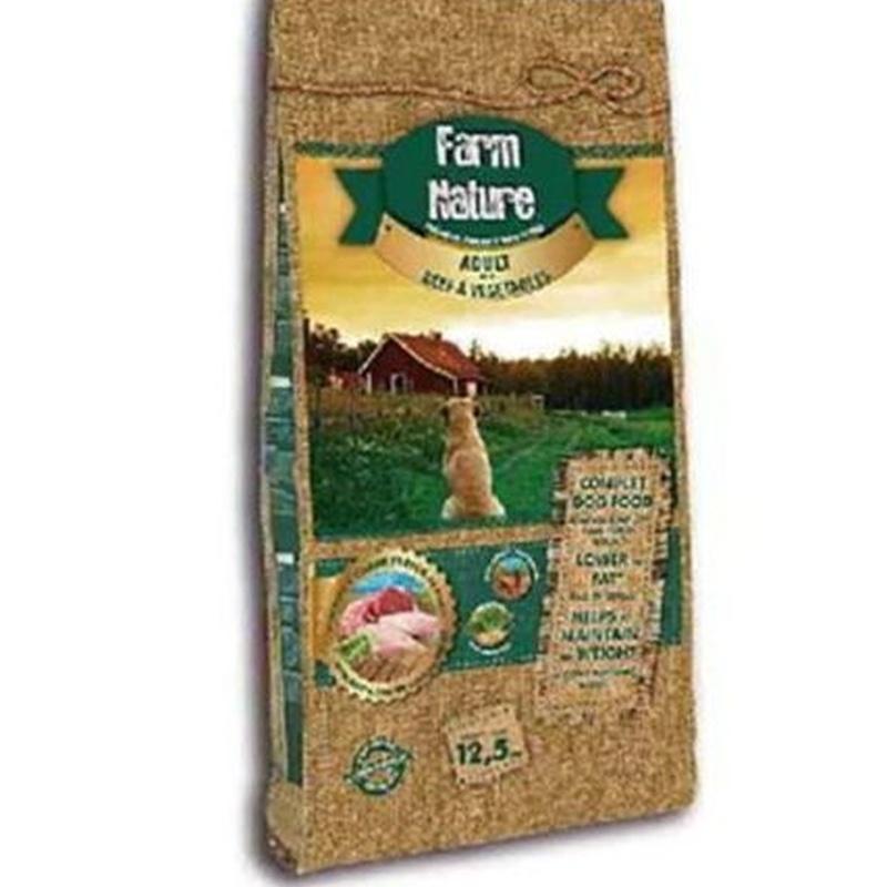 Farm nature buey y verduras: Servicios Veterinarios de Kan's&co Clínica Veterinària