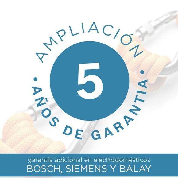 Ampliacion de garantia de Balay