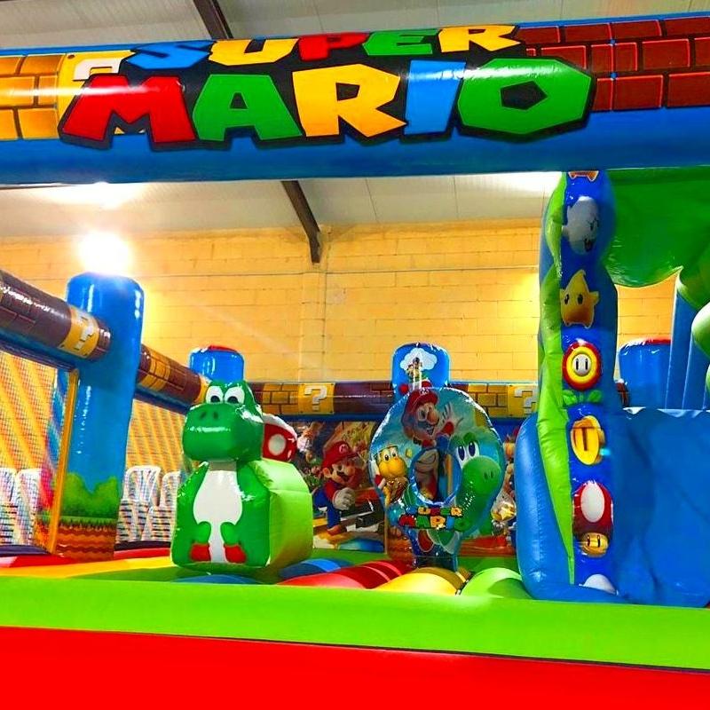 Mario Bros : Catálogo de Hinchables Happy Jump