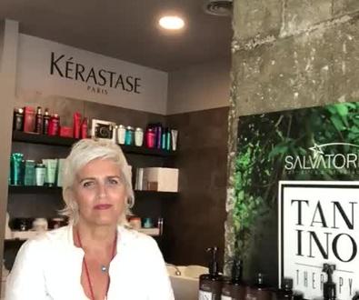 Que es la taninoplastia? explicado por Sonia Atanes peluqueria en Plaza de Castilla.