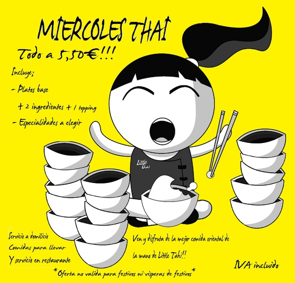 Miercoles Thai en... Little Thai!!