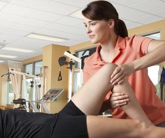 Fisioterapia traumatológica: TRATAMIENTOS de Melba Clínica de Fisioterapia