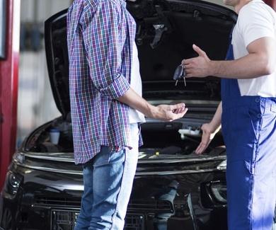 Servicio de recogida y entrega del vehículo