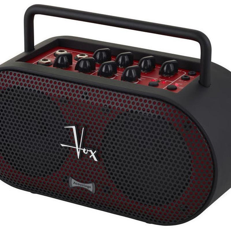 Amplificador guitarra, acustica, bajo, teclado.Pequeño a pilas Vox Soundvox Mini
