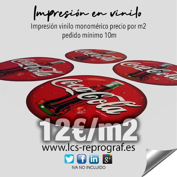 Impresión vinilo Madrid