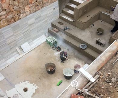 Construcción de piscina 3