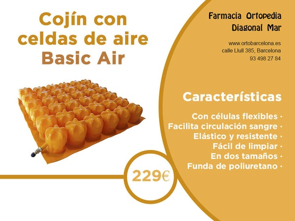 cojin Basic Air Barcelona