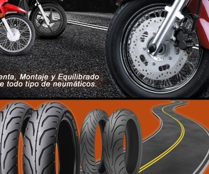 Venta, montaje y equilibrado de neumáticos de moto en Hospitalet de Llobregat