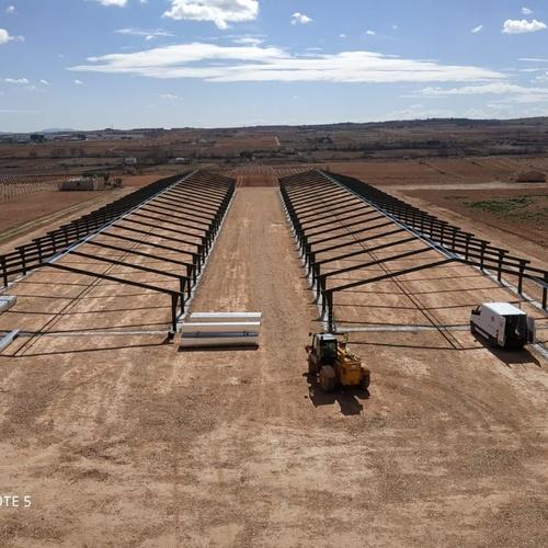 Naves de hierro en Castilla La Mancha