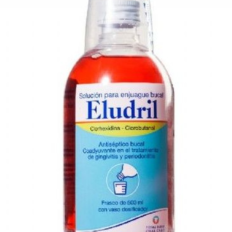 ELUDRIL SOLUCION PARA ENJUAGUE BUCAL 200 o 500 ML: Productos y Servicios de Farmacia-Ortopedia Can Parellada