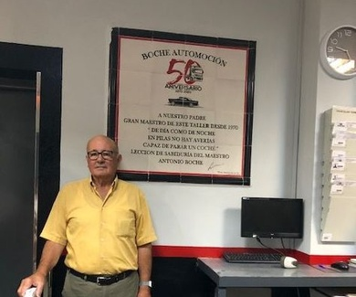 Homenaje a Antonio Medina Barragán