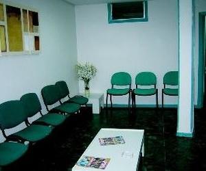 Recepción del centro médico