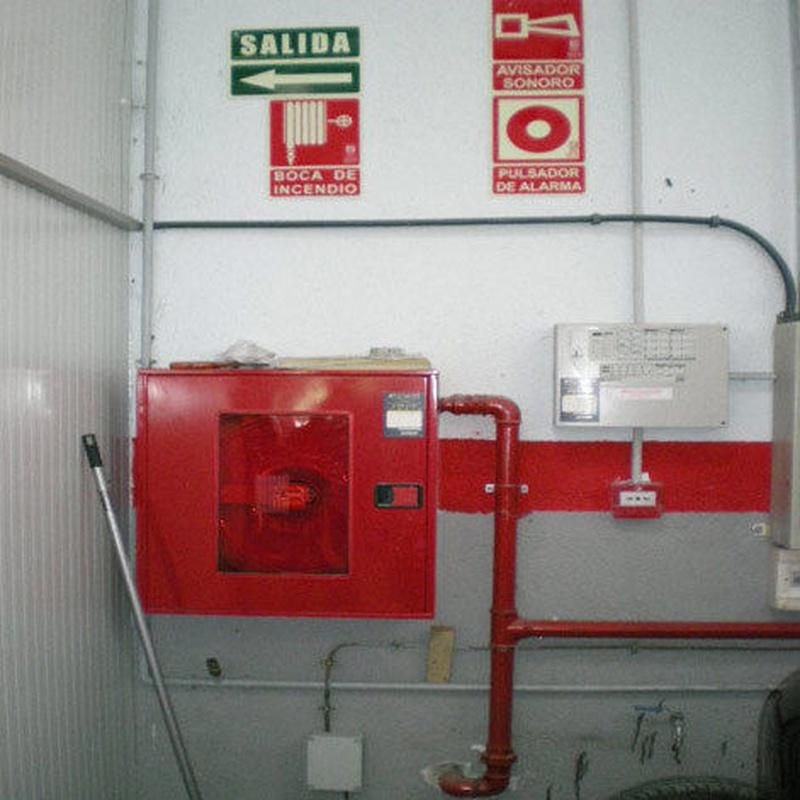Equipo contra incendios: Servicios de taller de Talleres Sanburauto