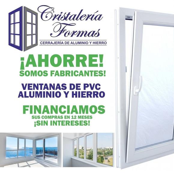 VENTANAS DE PVC, ALUMINIO, HIERRO