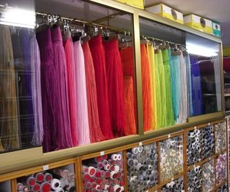 Cintas, Cordones y Elásticos: Productos de Mercería El Torcal Málaga