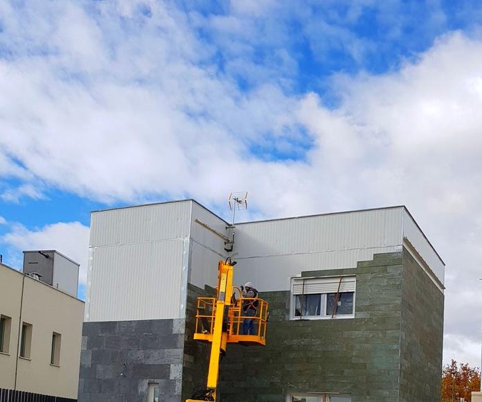 Obras en curso y montajes: Modelos de Edificación modular tecnológica