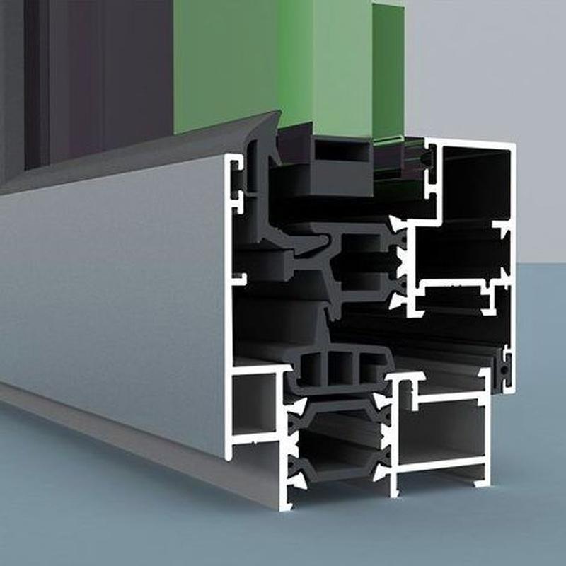 Perfilería con RPT (Rotura de puente térmico)