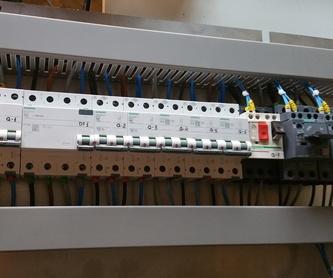 Reformas de cableado y de cuadros en máquinas antiguas: Servicios de FJM