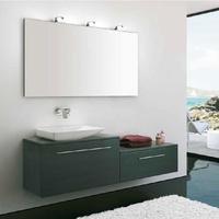 Mueble Modular Complet C6 de 1cajón+1 cajón, roble azul y tirador asa recta