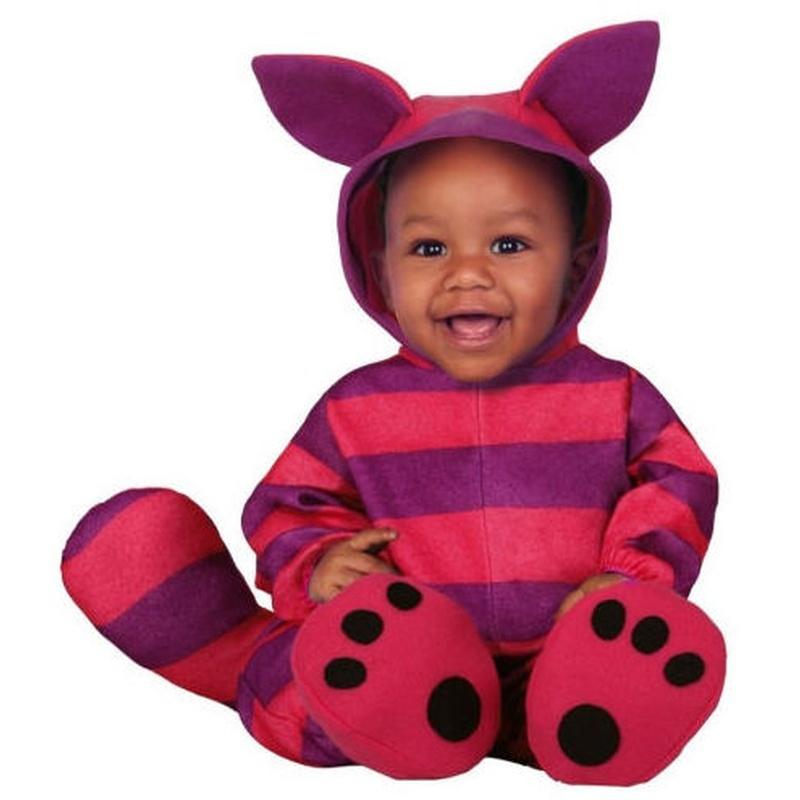 Disfraz gato púrpura