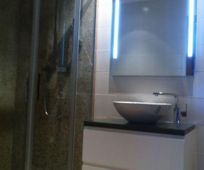 Mueble de baño lavabo sobrencimera
