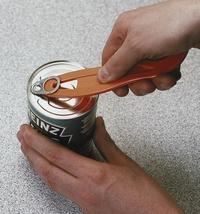 Abrelatas de anilla muy útil