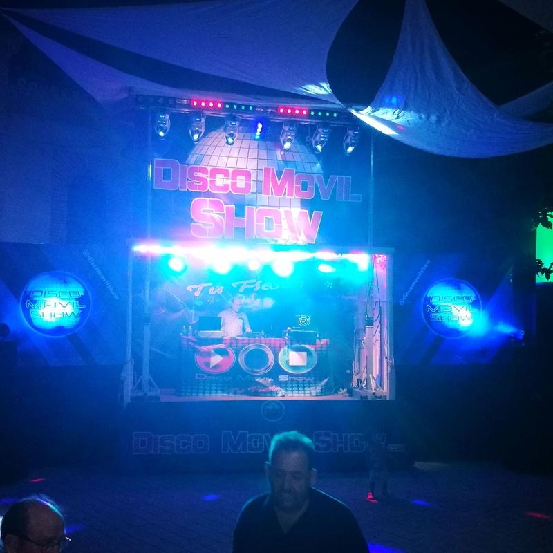 Camion DISCO show: Servicios de Disco Móvil Show