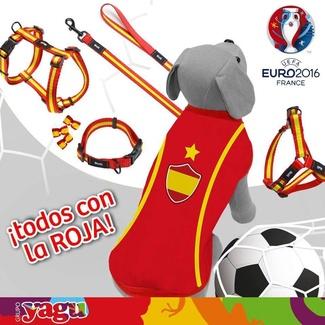 Tu perro vestirá el color de la Selección española de fútbol
