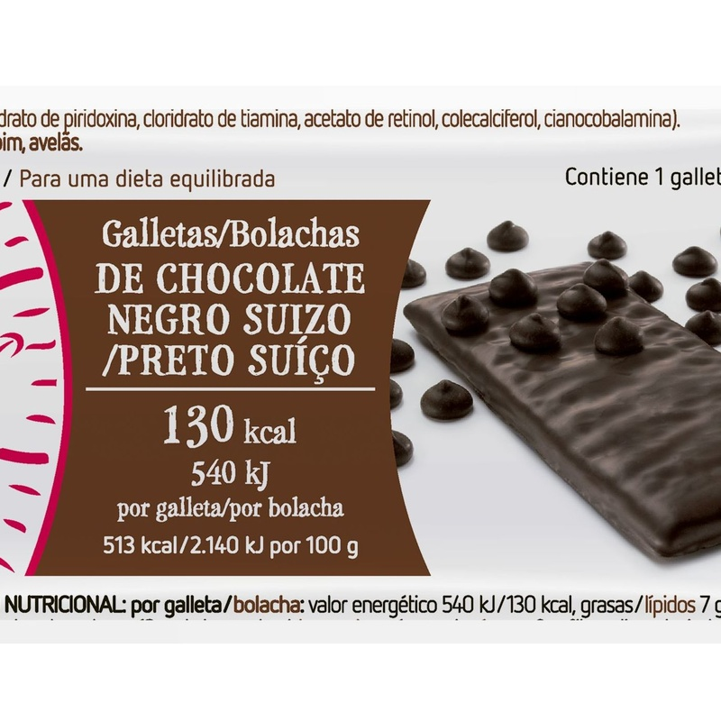 SIKENFORM CONTROL DE PESO GALLETAS CHOCOLATE NEGRO: Productos y Servicios de Farmacia-Ortopedia Can Parellada