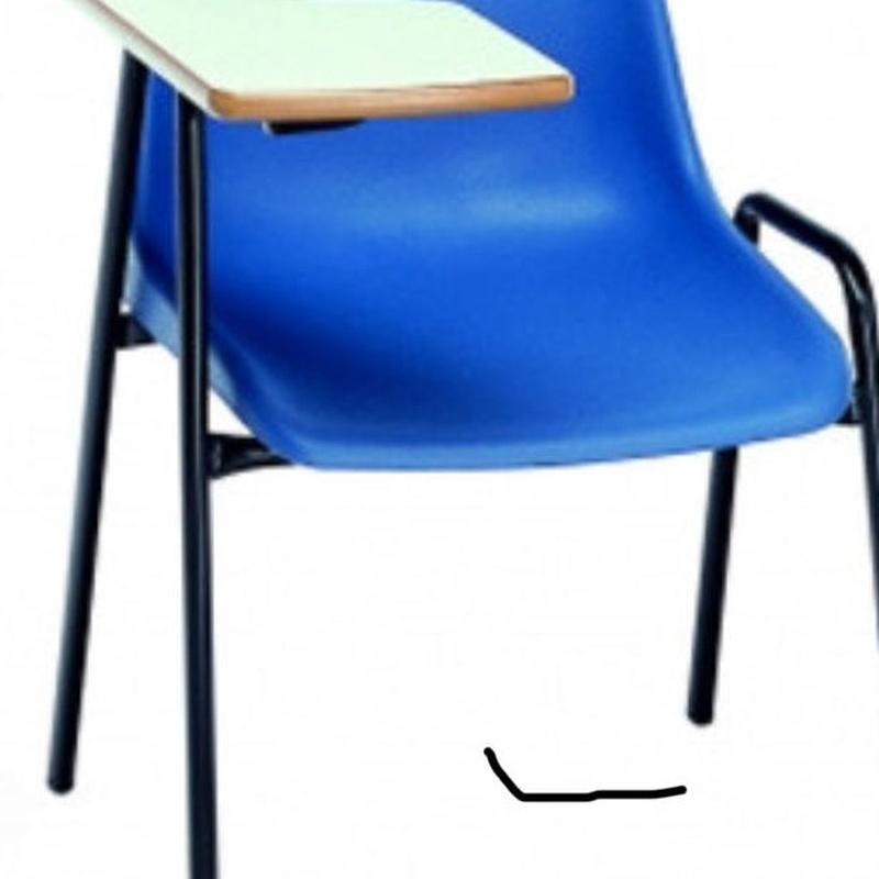 Silla de resina color azul: Catálogo de Jedal Alquileres