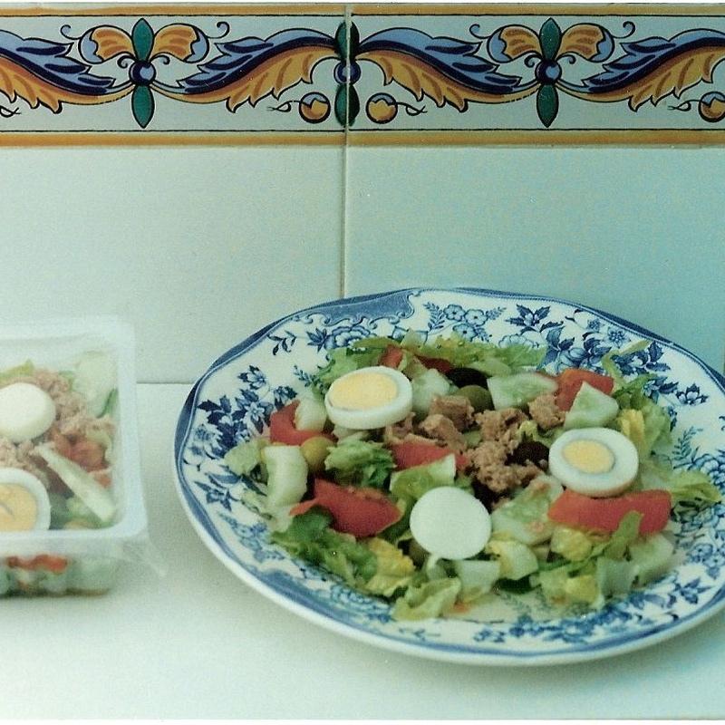 Ensalada mixta| comidas para llevar Murcia| La Olla de Murcia