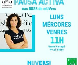 Pausas Activas con la Universidad de Vigo