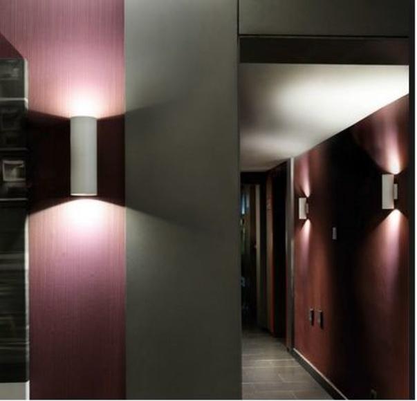 iluminacion led pared.