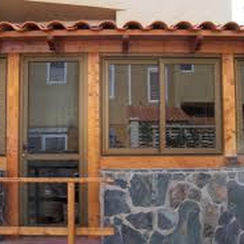 Cerramiento de porches y terrazas: Trabajos de Cerrajería Alberto Bautista